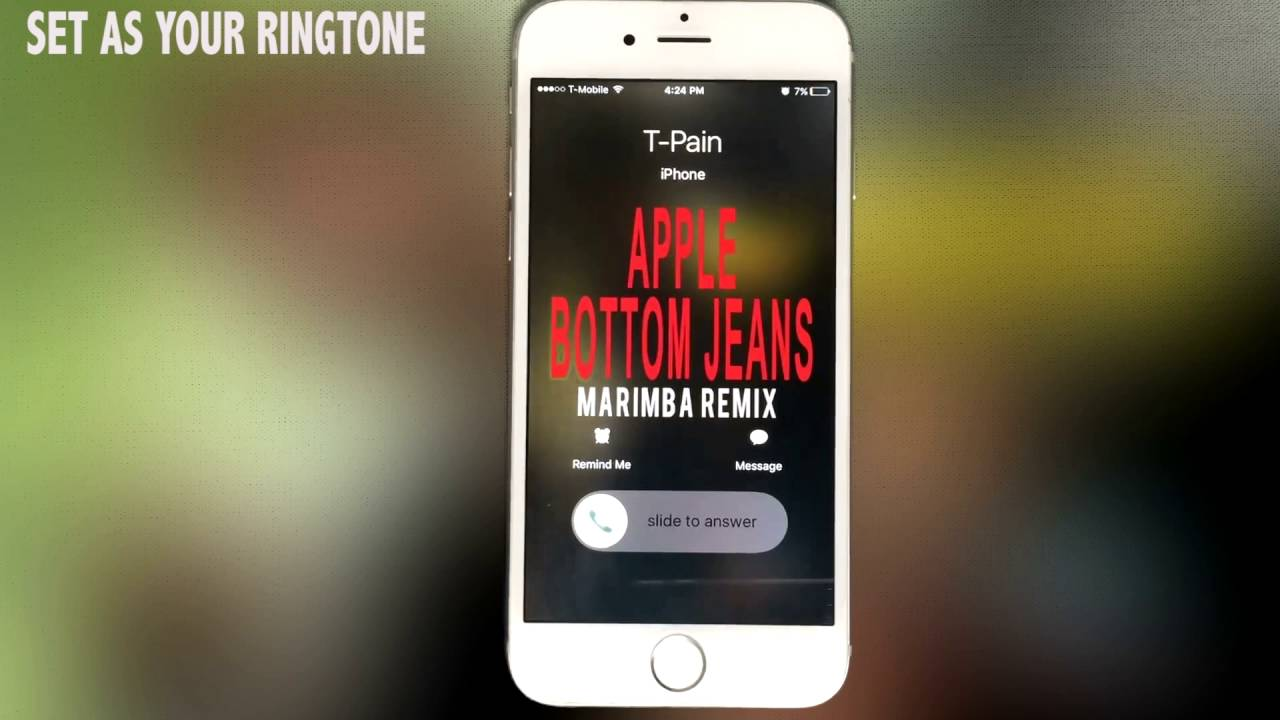 Apple bottom jeans remix