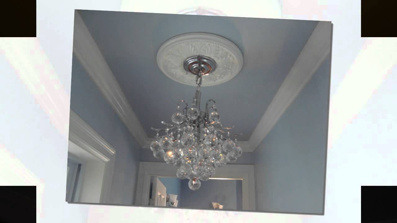 Ceiling Medallions - YouTube