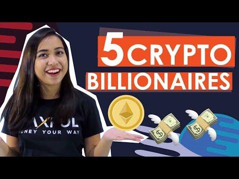 Top 5 Bitcoin Billionaires In 2018