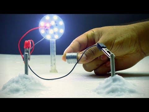 Free Energy Science Experiment From Salt and Magnets   Free Energy Test From Salt using Magnets and