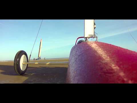 Land Yachts - Sailing at Mablethorpe Feb 2015