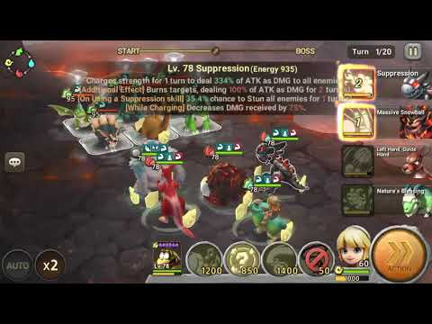 Stone Age Begins - Tyraflame Hunting Ground Stage 3 (Normal)
