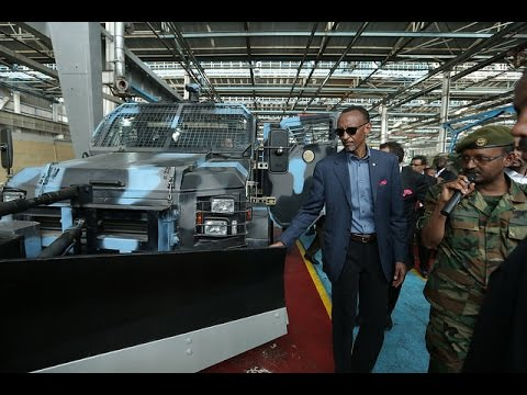 President Kagame visiting Ethiopia's Metals and Engineering Corporation- Ethiopia, 17 April 2015