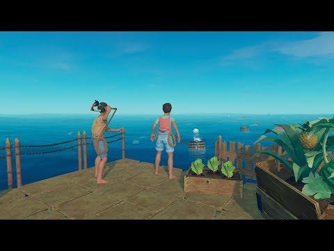 Încă un naufragiat   Raft Ziua 3