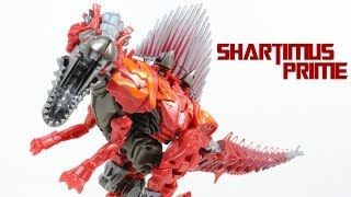 Transformers 4 Age of Extinction Scorn Dinobot Deluxe Class Movie Action Figure Review