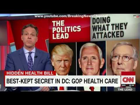 BEST-KEPT SECRET IN DC: GOP HEALTH BILL CNN The Lead with Jake Tapper 20/06/2017