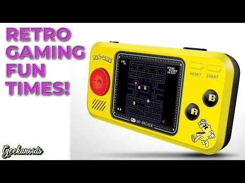 My Arcade Pac-Man Pocket Player Review