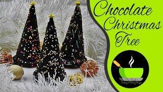 Chocolate Christmas Tree | DIY Holiday Treats | Christmas Recipes | No Bake Recipes