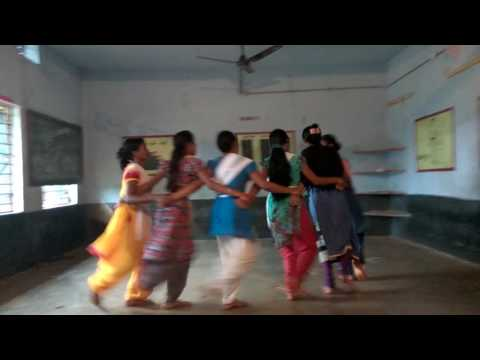 Dhemsa Dance By Nuagaon School Girls (Practice Session)
