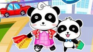Мультики для малышей Панда Кики Основы безопасности в пути #1 BabyBus panda Kiki dr Panda #kiki