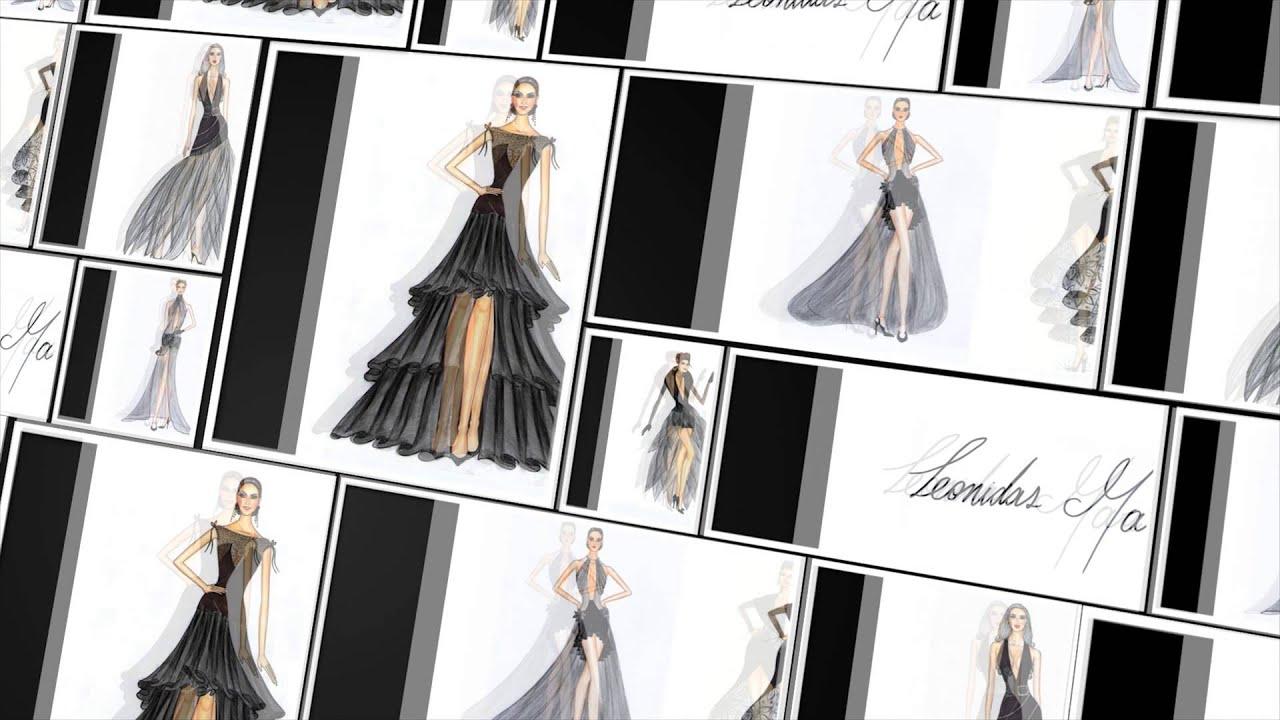 CV Leonidas Marín - Diseñador de Moda - YouTube