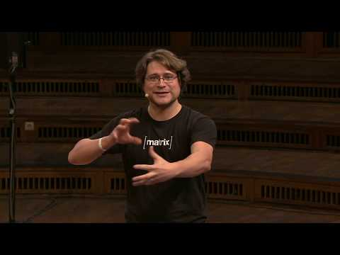 Discovering Decentralized Communication With Matrix.org By Matthew Hodgson At Web3 Summit 2018