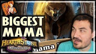THE BIGGEST MAMA EVER?! - Hearthstone Battlegrounds
