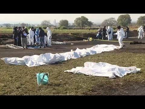 Al menos 79 muertos por la explosión del robo de gasolina en México