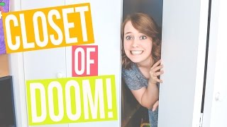 STORAGE CLOSET CLEAN OUT!   Let's Get Minimal Ep. 3 / Clean With Me