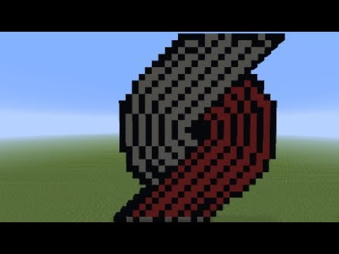Minecraft Trail Blazers pixel art tutorial thumbnail