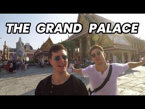 Visiting the Grand Palace in Bangkok - Thailand Travel Vlog