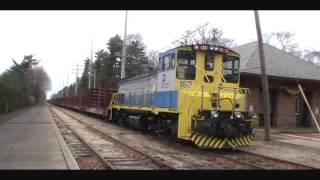 3-3-2012 LIRR Welded Rail Train Route-Mitchell Field to Atlantic Pipe.wmv