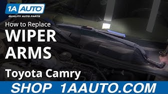 How to Replace Wiper Arms 97-01 Toyota Camry
