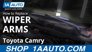 How to Remove Install Wiper Arms 1998 Toyota Camry