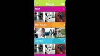 Setup a new Petzi Treat Cam  iOS