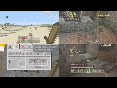 how to play minecraft splitscreen online