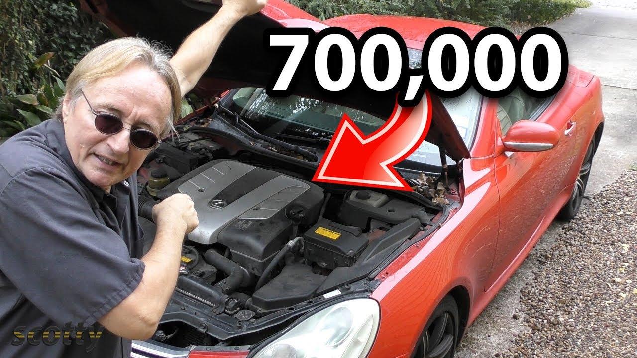 Voici à quoi ressemble une voiture avec 700 000 milles + vidéo