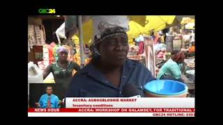 Accra: A look at the insanitary conditions at Agbogbloshie market