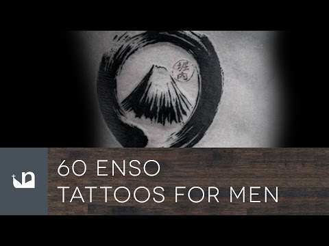 60 Enso Tattoos For Men