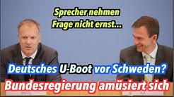 Bundesregierung lacht: Deutsches U-Boot vor Schweden?
