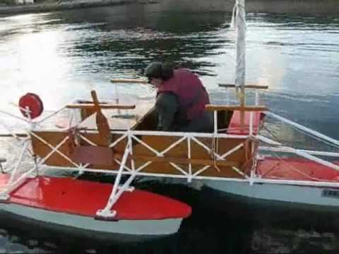 Homemade Pontoon Boat In Namsos You