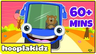 Wheels On The Bus & More Nursery Rhymes from HooplaKidz | 60+ Minutes Compilation