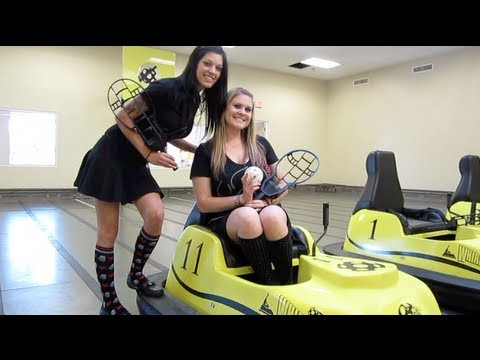 Bumper Car Basketball!? (The Whirly Dome Orlando)