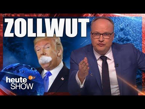 Donald Trump erklärt der Welt den Handelskrieg   heute-show vom 09.03.2018