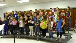 """GES Kinders sing """"Kindergarten"""""""
