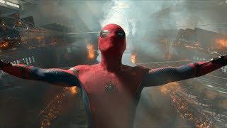 """Разлом парома на две части ! -""""Человек-паук: Возвращение домой"""" отрывок из фильма"""