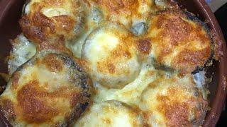 Шампиньоны с сыром сулугуни😍😍😍