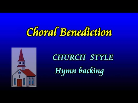 Go now in peace, never be afraid. church style hymn backing track by Allan Saunders
