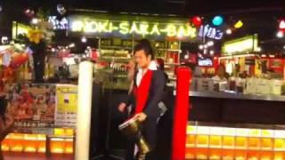 猪木酒場 新宿店にて。