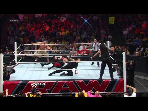 John Cena & Team Hell No vs. The Shield: Raw, April 29, 2013
