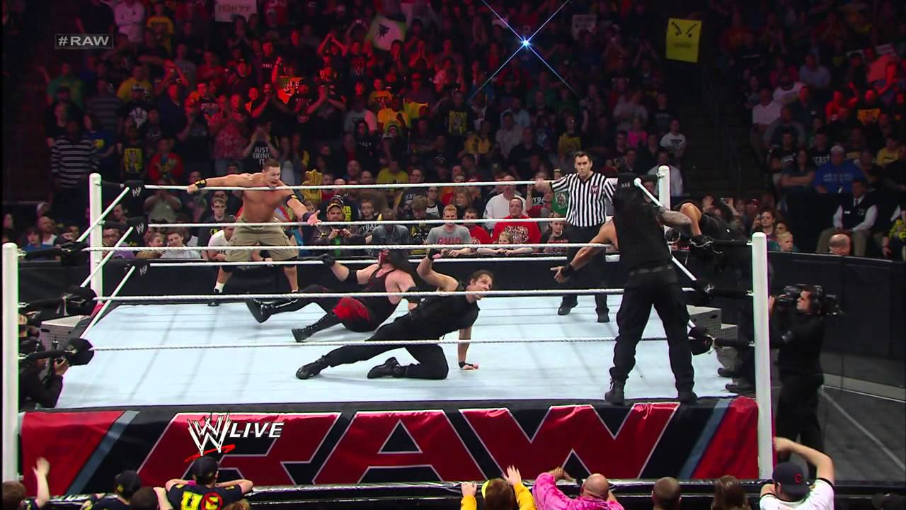 Download John Cena & Team Hell No vs. The Shield: Raw, April 29, 2013