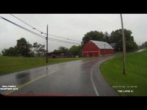 West Virginia 2016 US 250 South Wheeling to Cameron