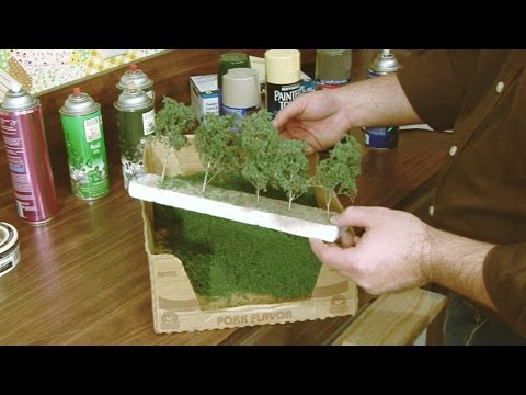 Making miniature decidious trees | Model railroad scenery EasyTrees | Model Railroad Hobbyist | MRH