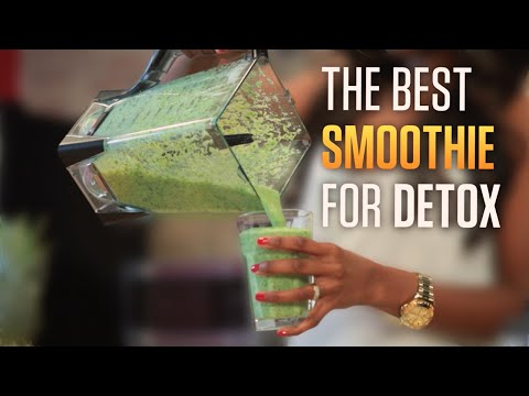 Best Green Detox Smoothie Recipe For Weight Loss