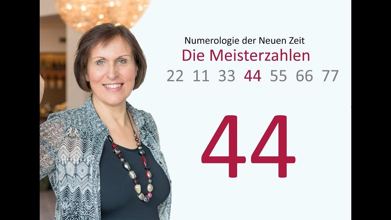 44 - Seelenpartner/Dualseelen/Paarbeziehungen - Die 4. Meisterzahl - Video 4/7