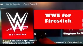 How to Watch WWE for firestick (Update)