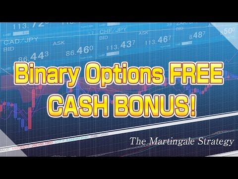 Best binary options bonuses. Get free money to trade online