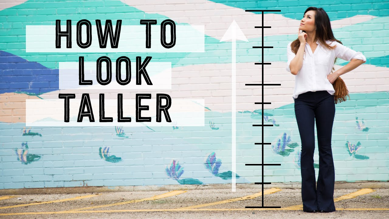 4a2666506d7 How to Look Taller | Fashion Tips and Tricks for Short Petite People | Miss  Louie - YouTube