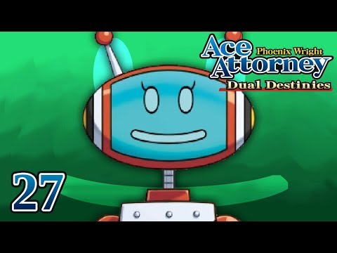 WITNESS AND EVIDENCE - Let's Play - Phoenix Wright: Ace Attorney: Dual Destinies - 27 - Playthrough