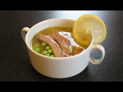 Суп гороховый «Симфония вкуса». На свиных ребрышках.